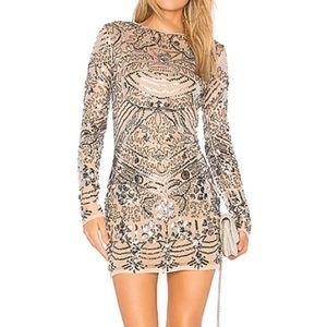 Revolve Sequin Mini Dress